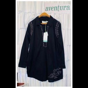 AVENTURA Dress Tunic NWT! Sz M